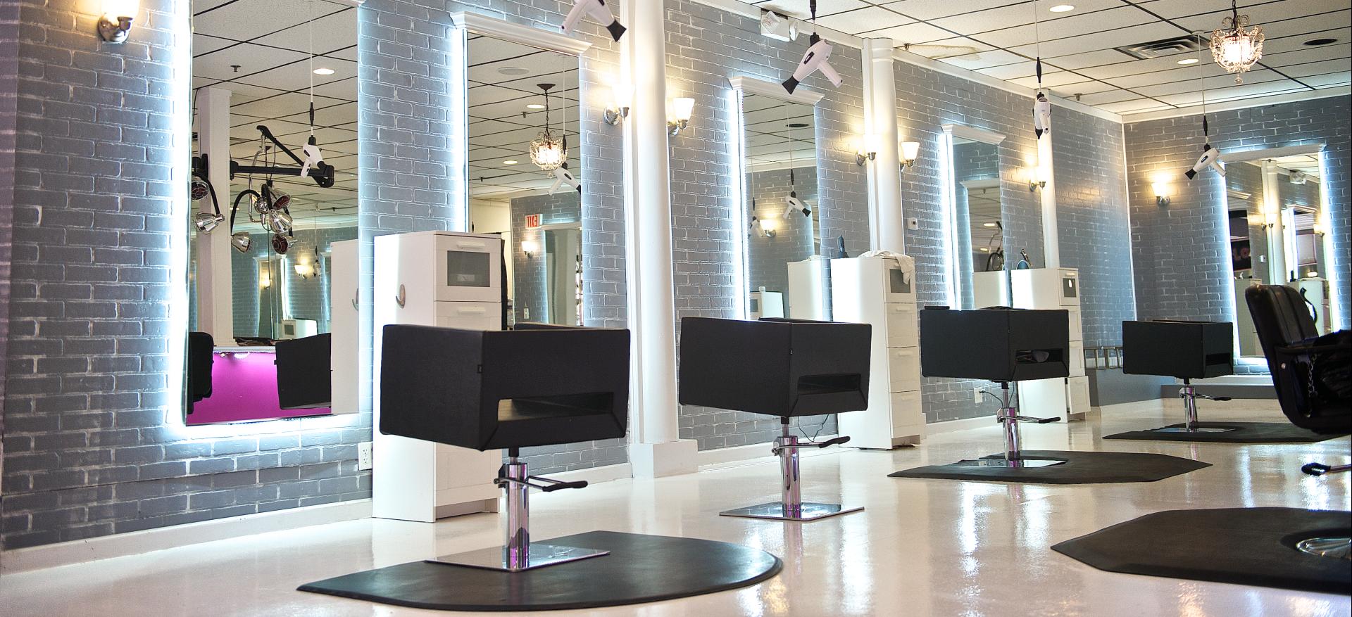 the hair bar blow dry bar salon. Black Bedroom Furniture Sets. Home Design Ideas